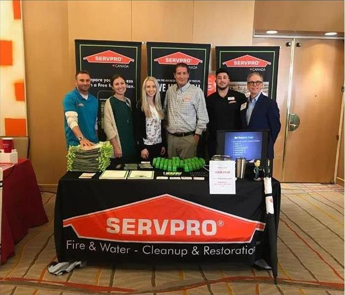 SERVPRO Convention Booth