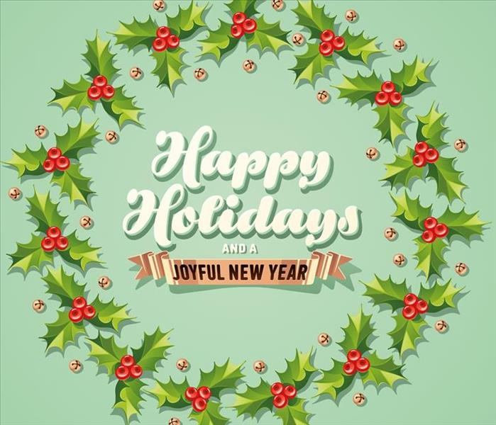 General Happy Holidays From SERVPRO of N.Vista/San Marcos